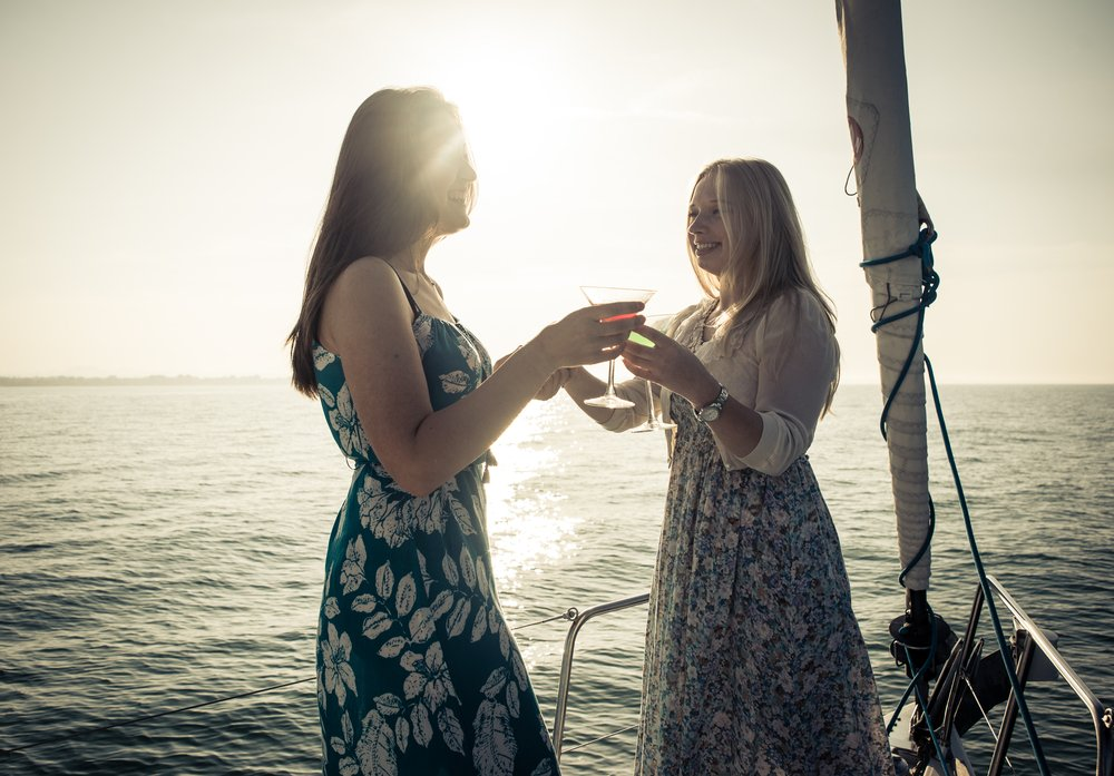 Yacht Charter Cocktail Party Ideas
