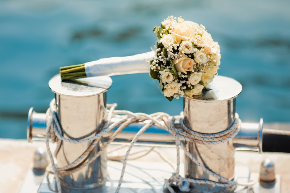 Wedding on a Private Yacht