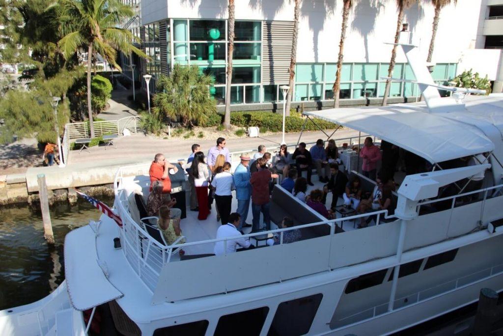 miami party boat rental