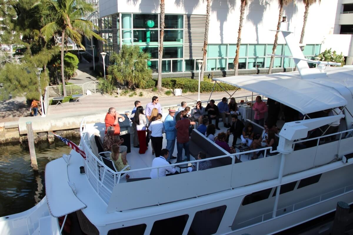 miami party boat rental