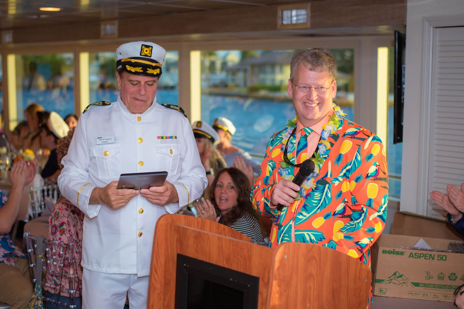 planning a corporate yacht charter party