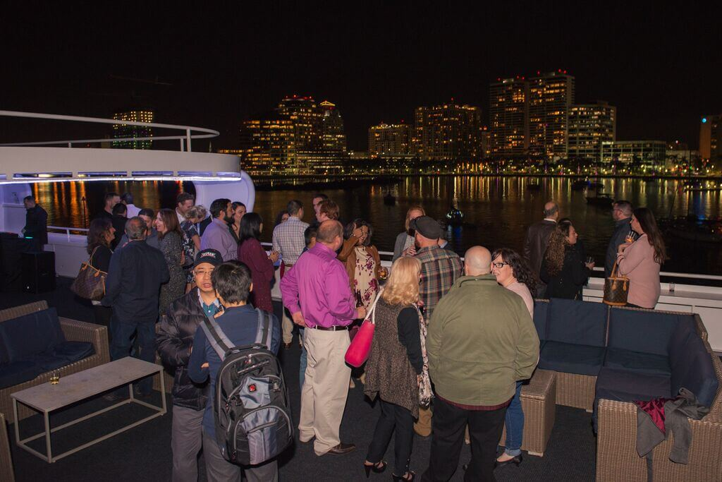 Dinner Party Fundraiser on a Yacht