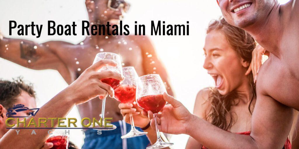 Party Boat Rentals in Miami | YachtChartersNow.com