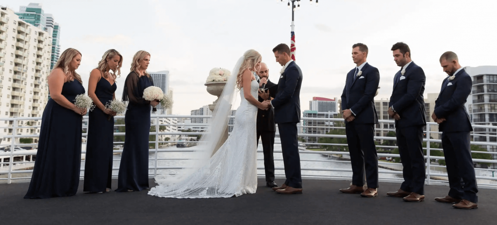 How much does a wedding on a boat cost?